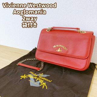 Vivienne Westwood - ★Vivienne Westwood★ショルダーバッグ★2way★赤★袋付き★