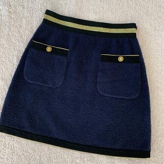 シャネル(CHANEL)のCHANEL ミニスカート 34(ミニスカート)