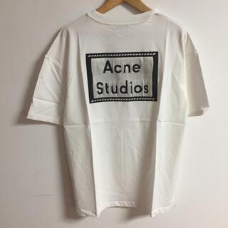 ACNE - サイズL白Acne studios Tシャツacne tシャツ