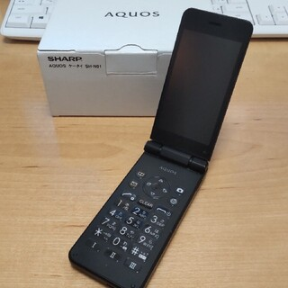 AQUOS - 【美品】SHARP AQUOS ケータイ SH-N01 Simフリー ガラケー