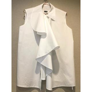 エムエムシックス(MM6)のmm6 maison margiela ブラウス ホワイト(シャツ/ブラウス(半袖/袖なし))