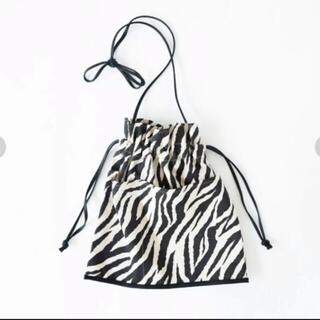 シールームリン(SeaRoomlynn)の巾着バッグ ゼブラ(ショルダーバッグ)