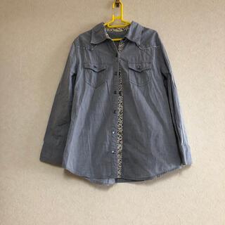 バックナンバー(BACK NUMBER)のライトオン バックナンバー 長袖シャツ 花柄 130(ブラウス)