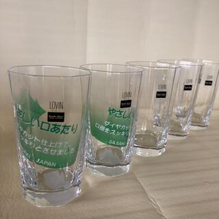 トウヨウササキガラス(東洋佐々木ガラス)の【新品未使用】佐々木硝子 グラスセット LOVIN ラビン 5個セット(グラス/カップ)