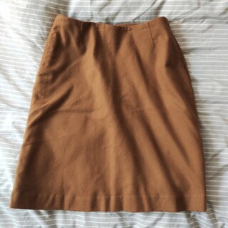 MUJI (無印良品) - 無印 ウール 台形スカート