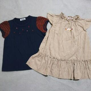 familiar - 【中古】 ファミリア チュニック Tシャツ