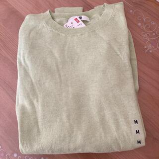UNIQLO - 【新品未使用】ユニクロ コットンカシミヤクルーネックセーター