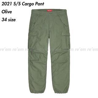 Supreme - Supreme 2021 21 SS Cargo Pant Olive 34