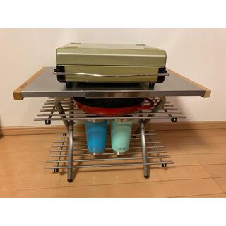 ユニフレーム(UNIFLAME)のユニフレーム  焚き火テーブル カスタムパーツ ステンレスラック2枚セット(テーブル/チェア)