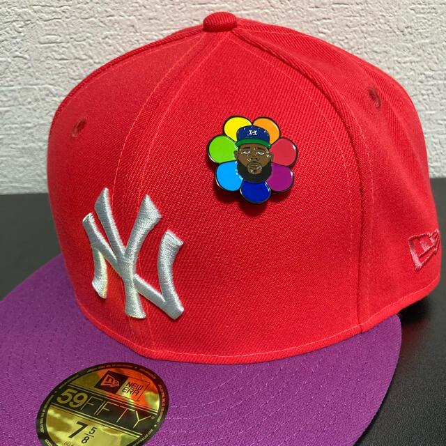 NEW ERA(ニューエラー)のjae tips Hat clubコラボ限定ニューエラ59fifty 7 5/8 メンズの帽子(キャップ)の商品写真