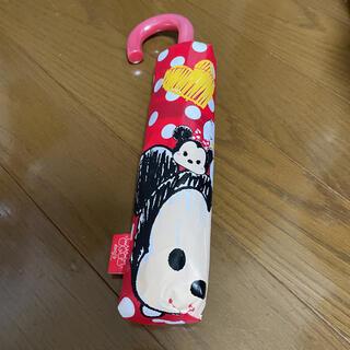 ディズニー(Disney)のアミューズメント限定 ディズニー ツムツム 折り畳み傘 折りたたみ 傘 ミッキー(傘)