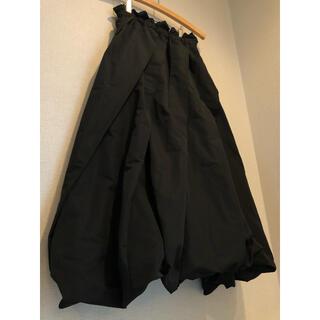 ENFOLD - nagonstans バルーンスカート ブラック