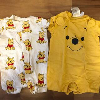 エイチアンドエム(H&M)のロンパース H&M エイチアンドエム プーさん Pooh(ロンパース)