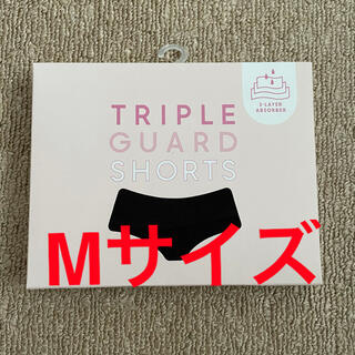 ジーユー(GU)の【新品未使用】 GU トリプルガードショーツ ブラック Mサイズ(ショーツ)