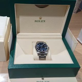 ROLEX - ロレックス オイスターパーペチュアル41 124300 ブライトブルー