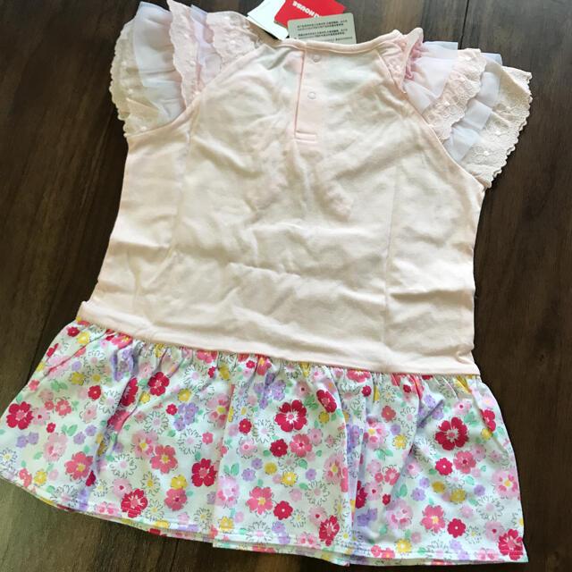 mikihouse(ミキハウス)の新品 ミキハウス Tシャツ 110 キッズ/ベビー/マタニティのキッズ服女の子用(90cm~)(Tシャツ/カットソー)の商品写真