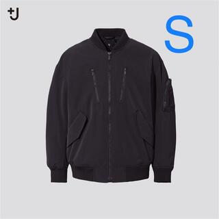 ユニクロ +J オーバーサイズブルゾン ブラック S 新品