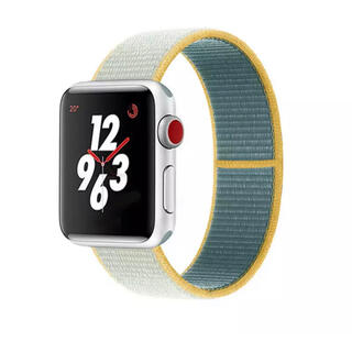 Apple Watch - Apple Watch バンド ナイロン アップルウォッチ ベルト グリーン