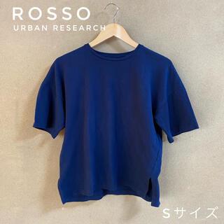 アーバンリサーチロッソ(URBAN RESEARCH ROSSO)のROSSO URBAN RESEARCH/Tシャツ プルオーバー/紺色(Tシャツ(半袖/袖なし))
