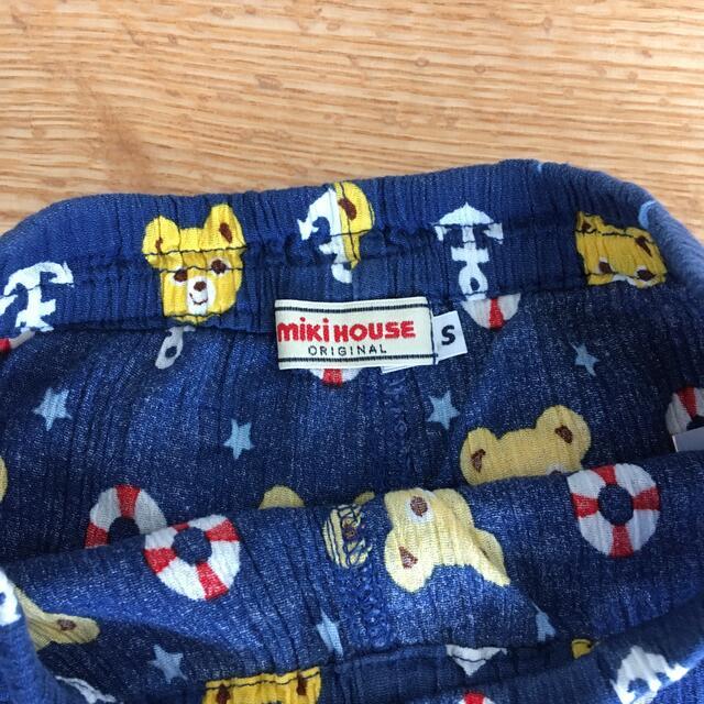 mikihouse(ミキハウス)のお値下げしました! ミキハウス ステテコ 90-100 キッズ/ベビー/マタニティのキッズ服男の子用(90cm~)(パンツ/スパッツ)の商品写真