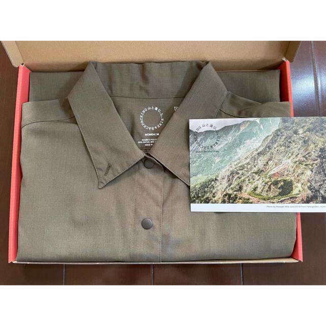 山と道 バンブーショートスリーブシャツ(woman M) スポーツ/アウトドアのアウトドア(登山用品)の商品写真