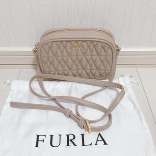 Furla - 【美品】FURLA フルラ キルティングレザー ショルダーバッグ
