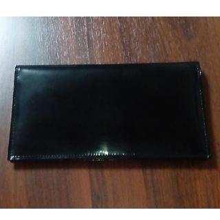 タケオキクチ(TAKEO KIKUCHI)のTAKEO KIKUCHI  長財布 エナメル 黒(長財布)