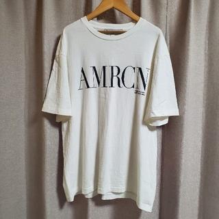 アメリカーナ(AMERICANA)の2021 Americana オーバーサイズ Tシャツ アメリカーナ(Tシャツ(半袖/袖なし))