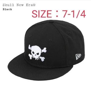 Supreme -   シュプリーム Supreme   Skull New Era@ Black
