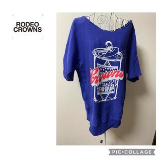 ロデオクラウンズ(RODEO CROWNS)の【ロデオクラウンズ】半袖スウェット(Tシャツ(半袖/袖なし))