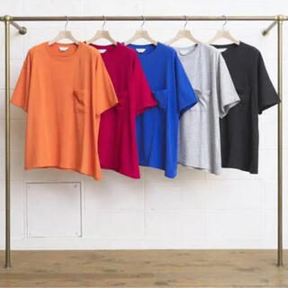 UNUSED - UNUSED Pocket T-shirt アンユーズド Tシャツ 18ss