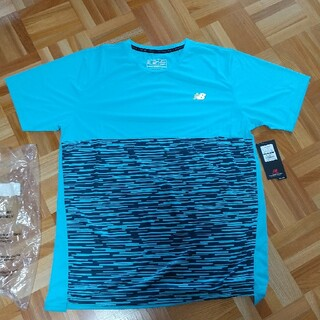 ニューバランス(New Balance)のニューバランス メンズXL ハンゾウTシャツ(トレーニング用品)