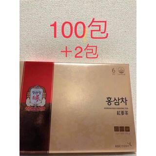 韓国 正官庄 6年根 高麗人参茶 3g×100+2包