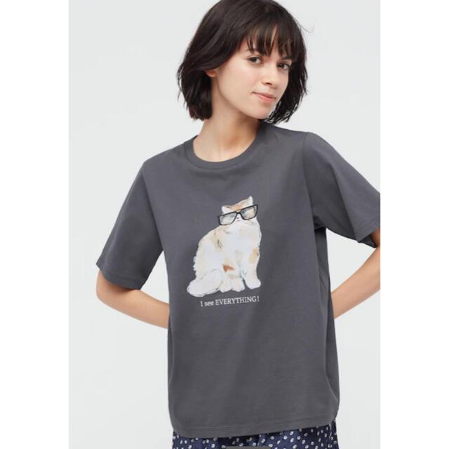 UNIQLO(ユニクロ)のユニクロ ポール&ジョー コラボTシャツ Mサイズ レディースのトップス(Tシャツ(半袖/袖なし))の商品写真