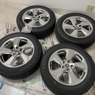 トヨタ - 新型 RAV4 ハイブリッドG 純正 タイヤホイール4本セット 引き取り限定