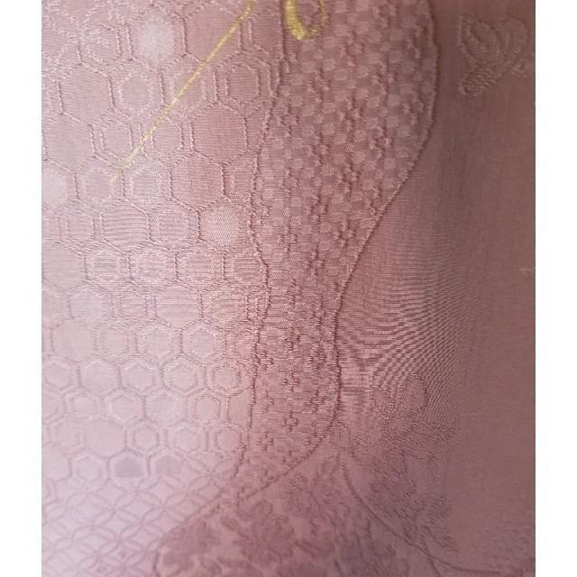 未使用 帯揚げ 紫 金彩 レディースの水着/浴衣(和装小物)の商品写真