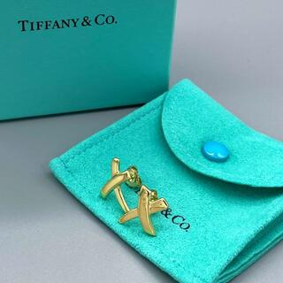 Tiffany & Co. - 未使用 ティファニー イエロー ゴールド キス ピアス K18 vv52