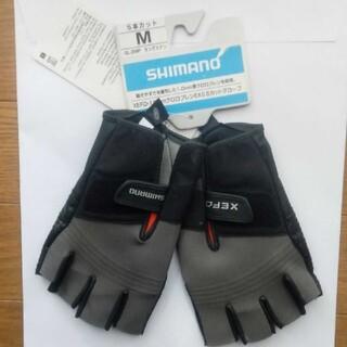 シマノ タングステン 5本カット 釣り フィッシング 手袋 グローブ M 新品(ウエア)