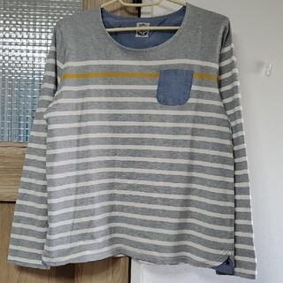 ラフ(rough)のrough ラフ ロンT ボーダー 長袖カットソー(Tシャツ(長袖/七分))