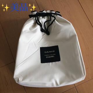 CHANEL - シャネル ポーチ 巾着 布袋 ノベルティー 【 CHANEL 】