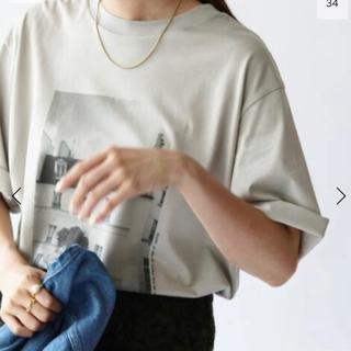 イエナ(IENA)のIENA フォトTシャツ(Tシャツ/カットソー(半袖/袖なし))