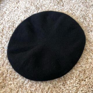 ローリーズファーム(LOWRYS FARM)のローリーズファーム ベレー帽 黒(ハンチング/ベレー帽)