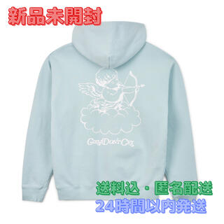 Girls Don't Cry GDC ANGEL HOODIE BLUE S