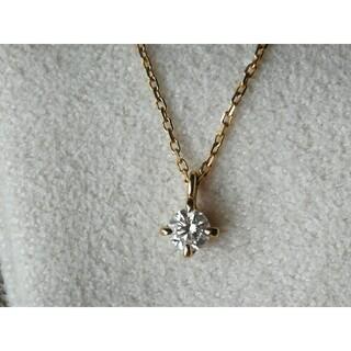 ete - ete K18 ダイヤモンドネックレス