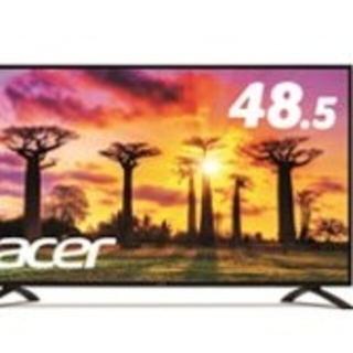 エイサー(Acer)のeb490qkbmiiipx Acer モニター 48.5 4k(ディスプレイ)