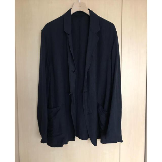 COMOLI(コモリ)のcomoli 20ss ヴィスコースリネンジャケット メンズのジャケット/アウター(テーラードジャケット)の商品写真