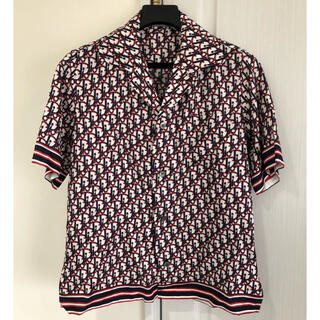 DIOR HOMME - DIOR HOMME 大人気 ロゴシャツ シルク 半袖シャツ