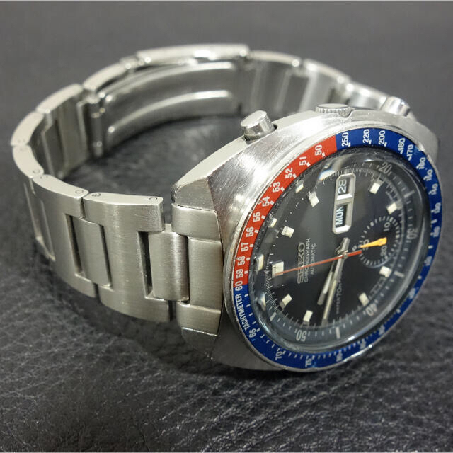 SEIKO 社外品 スピードタイマー用ブレスレット ペプシ コーク用 新品 メンズの時計(金属ベルト)の商品写真