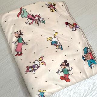 ディズニー(Disney)のレトロミッキー 冷感ケット(タオルケット)