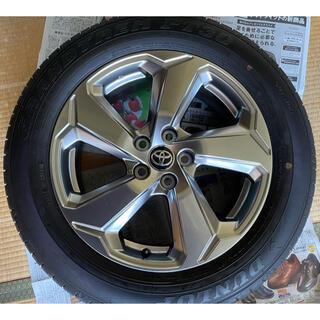 トヨタ - トヨタ 新型RAV4 G 純正タイヤ ホイールセット